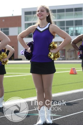 Photos from the Oct. 3 JV football game vs. Burleson. (Photo by The Creek Yearbook Photographer Zoe Taylor)