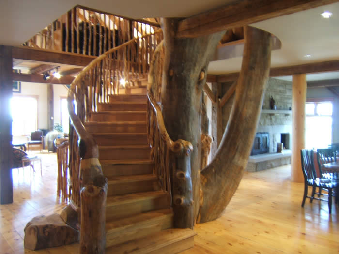 AwardWinning Timber Frame House in Little Harbour Nova Scotia