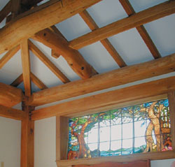 Timberhart Woodworks This Frame Exhibits The Builders