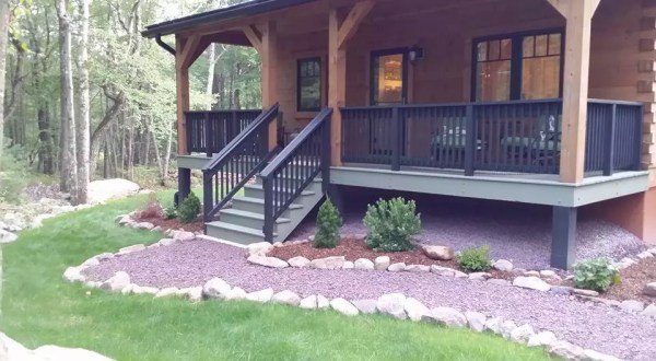 exterior finishes porch deck