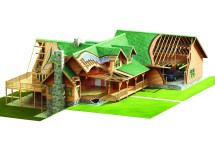 Eagle Rock Log Home Package - Timberhaven & Timber Homes