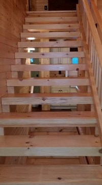 Stare at Your Stairs: Non-Traditional Wooden Stair System