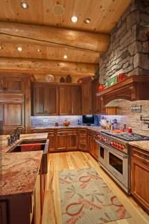 Innovative Kitchen Appliances Log Home