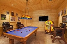 Log Cabin Home Game Rooms