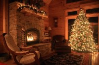 A Log Home Christmas Wish from Timberhaven