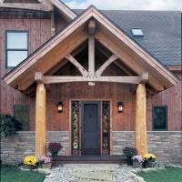 Timber Frame Entrances | Joy Studio Design Gallery - Best ...
