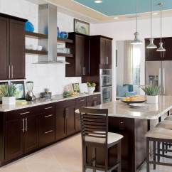Coffee Color Kitchen Cabinets Kitchens Ideas Builder Concept Homes Feature Timberlake Cabinetry At Ibs 2012