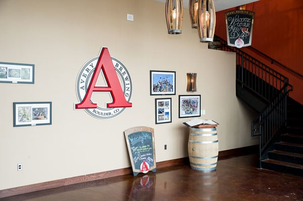 Avery Brewery Entry