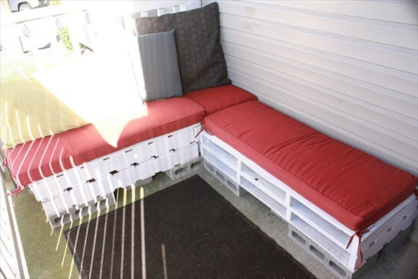 pallet sofa for sale chesterfield lorenzo malaysia garden furniture from wooden pallets timber packing cases outdoor sofas