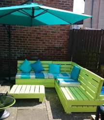 Garden Furniture Wooden Pallets Timber Packing Cases