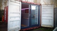 Shipping Container Office - Timberpad LTD
