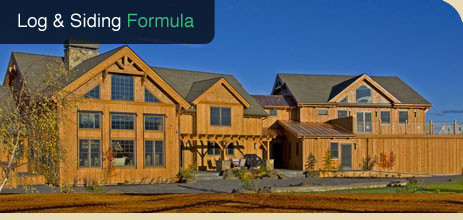 Best Log Home Finishes Wood Stain Polyurethane Or Concrete Sealers ...