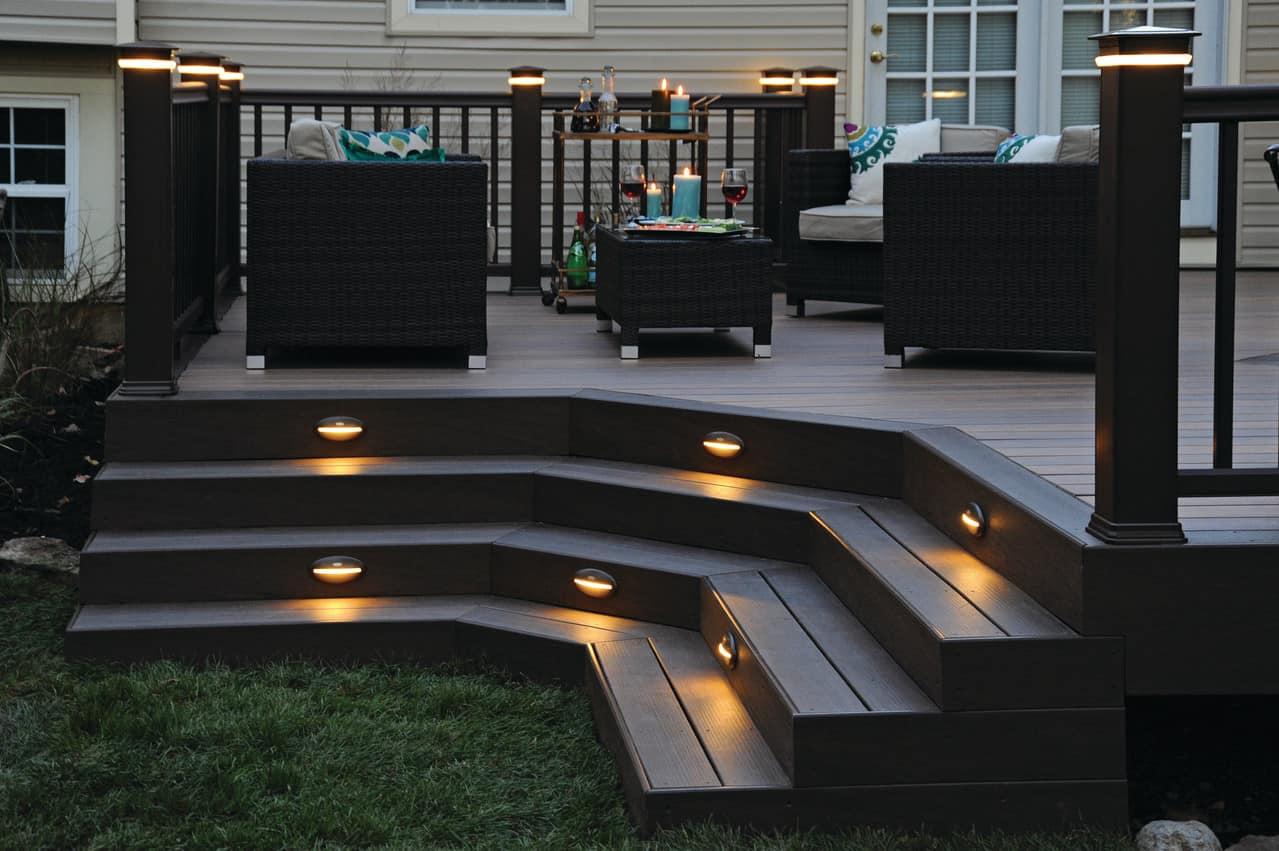 outdoor deck lighting ideas to complete