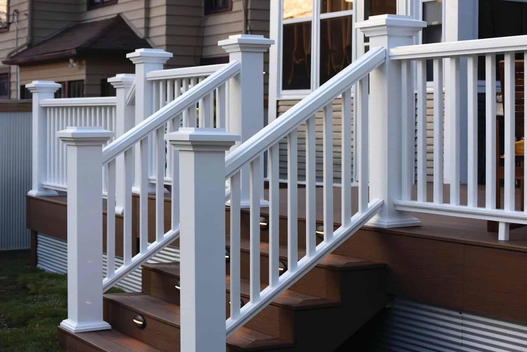 How To Install Timbertech Deck Railing Timbertech | Installing Deck Stair Railing | Outdoor Stair | Baluster | Railing Ideas | Stair Treads | Stair Stringers