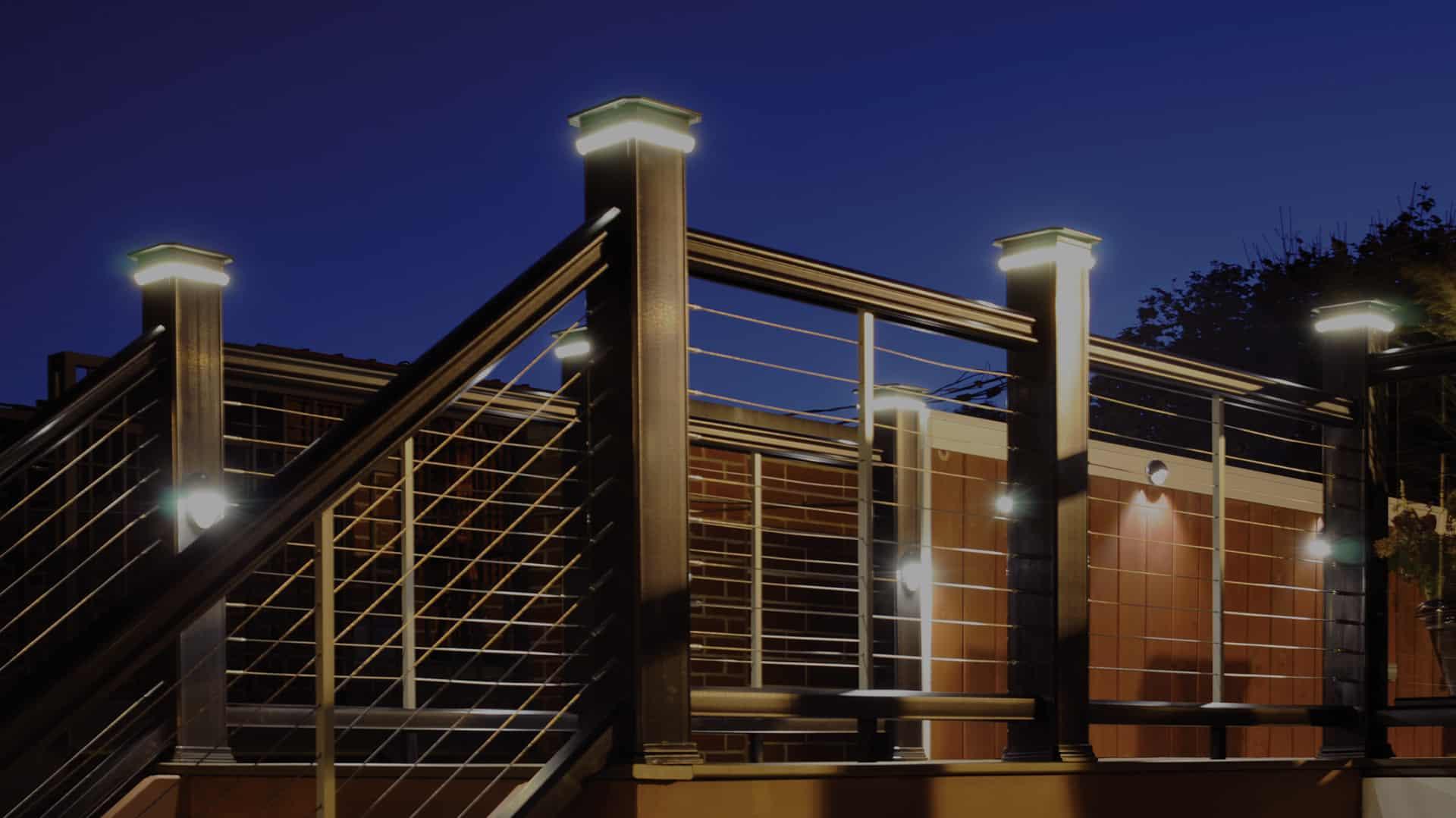 best decking lights for decks porches