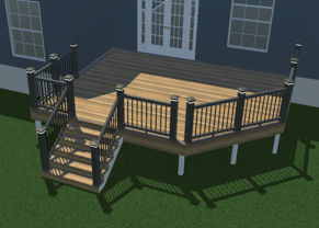 deck plans designs free deck plans