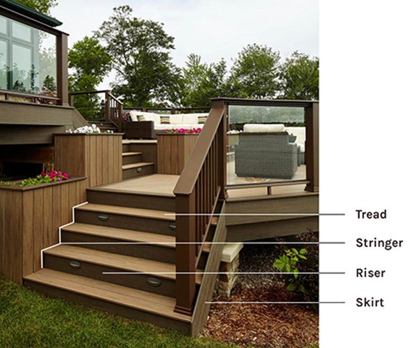 deck stairs design ideas explore your