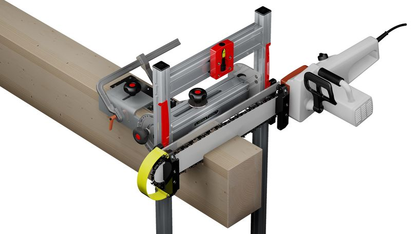Chainsaw Cutting Jig