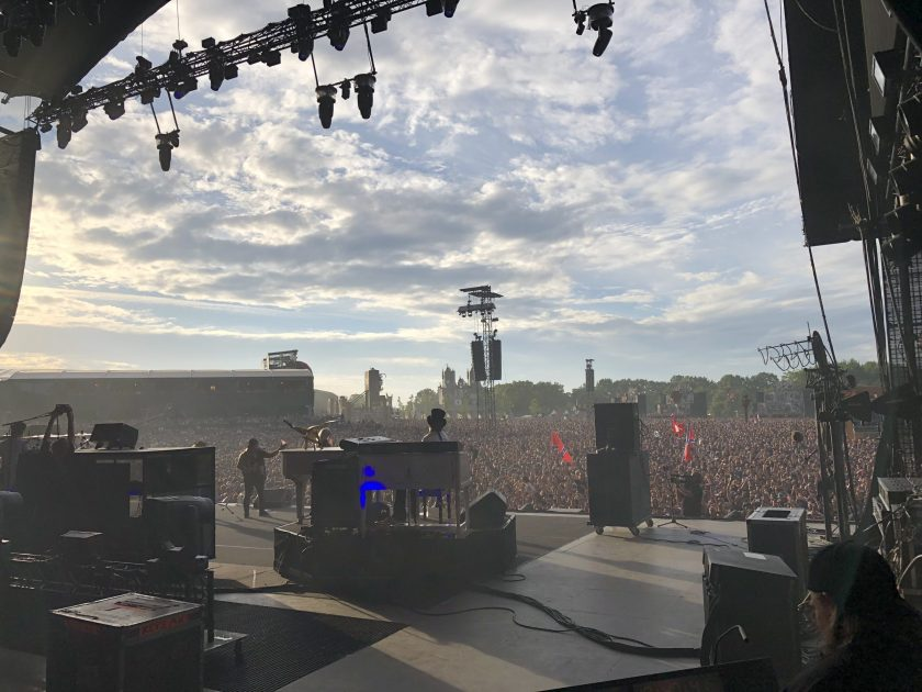 On stage with Lynyrd Skynyrd @ Helfest 2019
