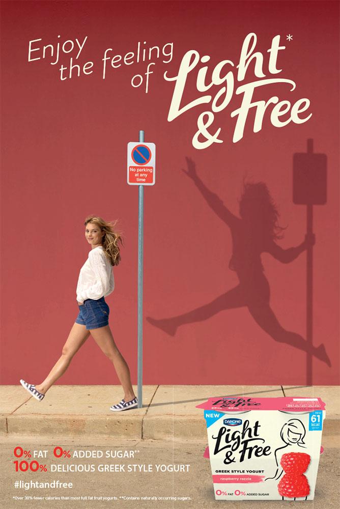danone yogurt advertising still  tim bretday photography