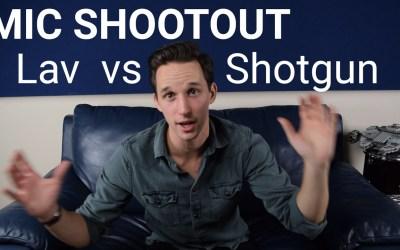 Microphone Shootout: Lavalier vs Shotgun