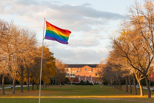 gay pride on campus