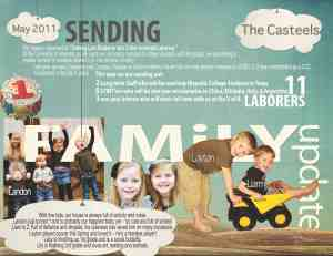 May 2011 Prayer Letter