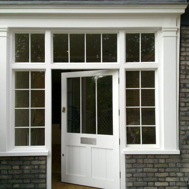 front door repainted
