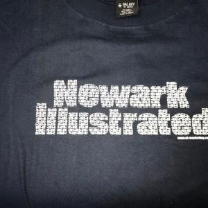 Newark Illustrated Area Codes Tee
