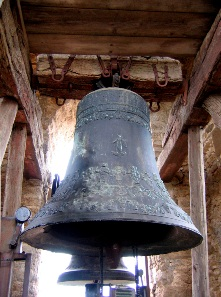 Old church bell.