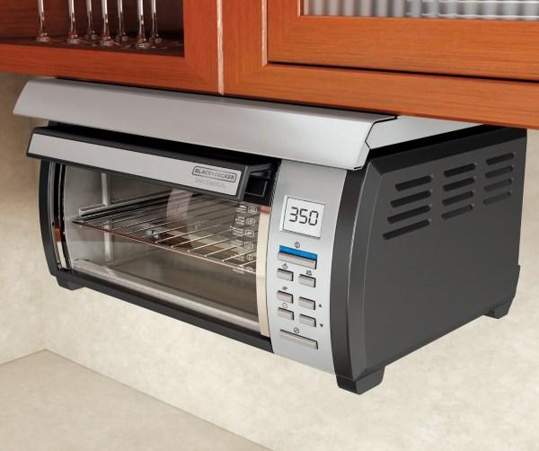 Under Cabinet Toaster Oven Black & Decker Tros1000