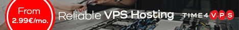 Time4VPS.EU - ヨーロッパで開催されるVPS