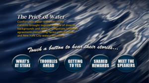 The Price Of Water Main Menu