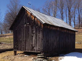 Rose Farm Granary – acquired, waiting to be moved