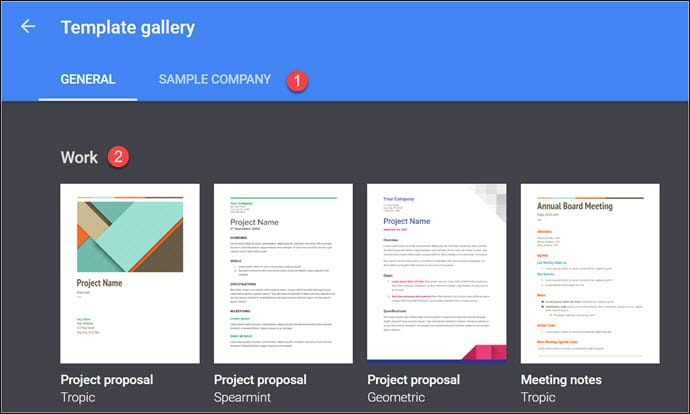 Google Doc Templates Resume