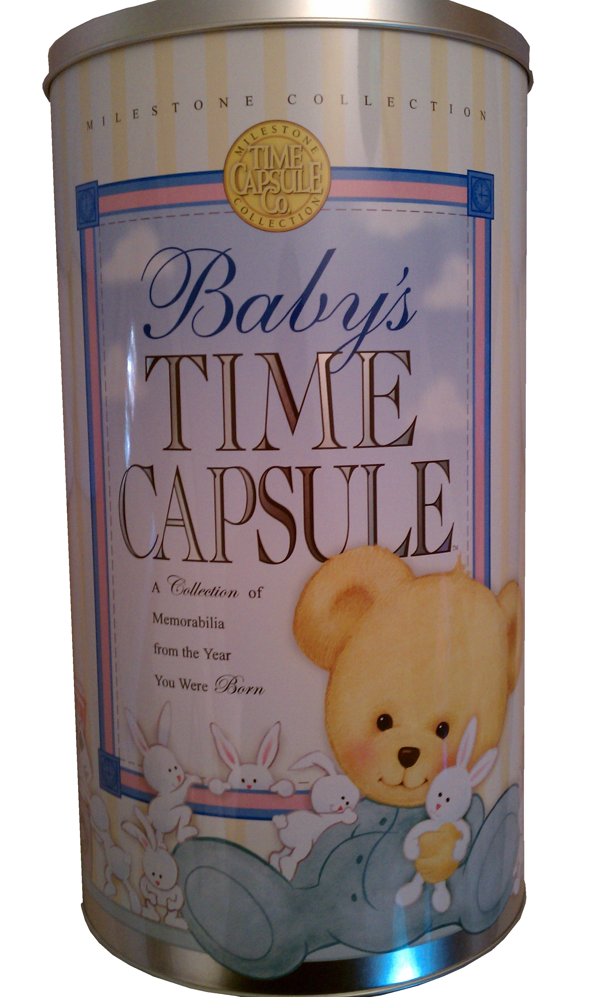 Baby Time Capsule Front