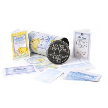 Baby Keepsake Gifts - Time Capsule spread out