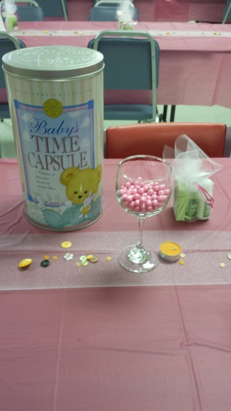 Cute as a Button Baby Shower Theme