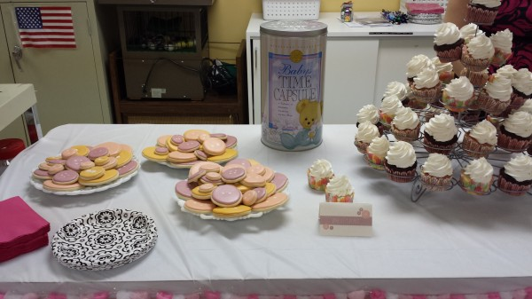 Cute as a Button Baby Shower Snacks