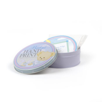 Baby Hand Print Kit - Handprint kit tin