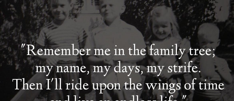 Family Tree quote