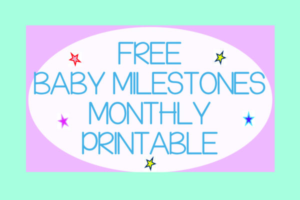 Baby Milestones to Record