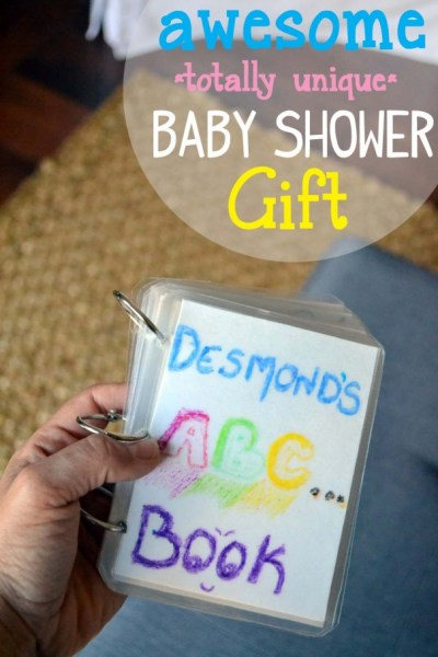 Unique Baby Gifts - ABC Book