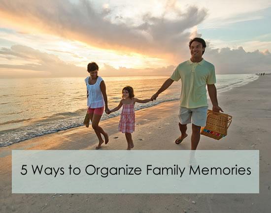 5 ways to organize sentimental items