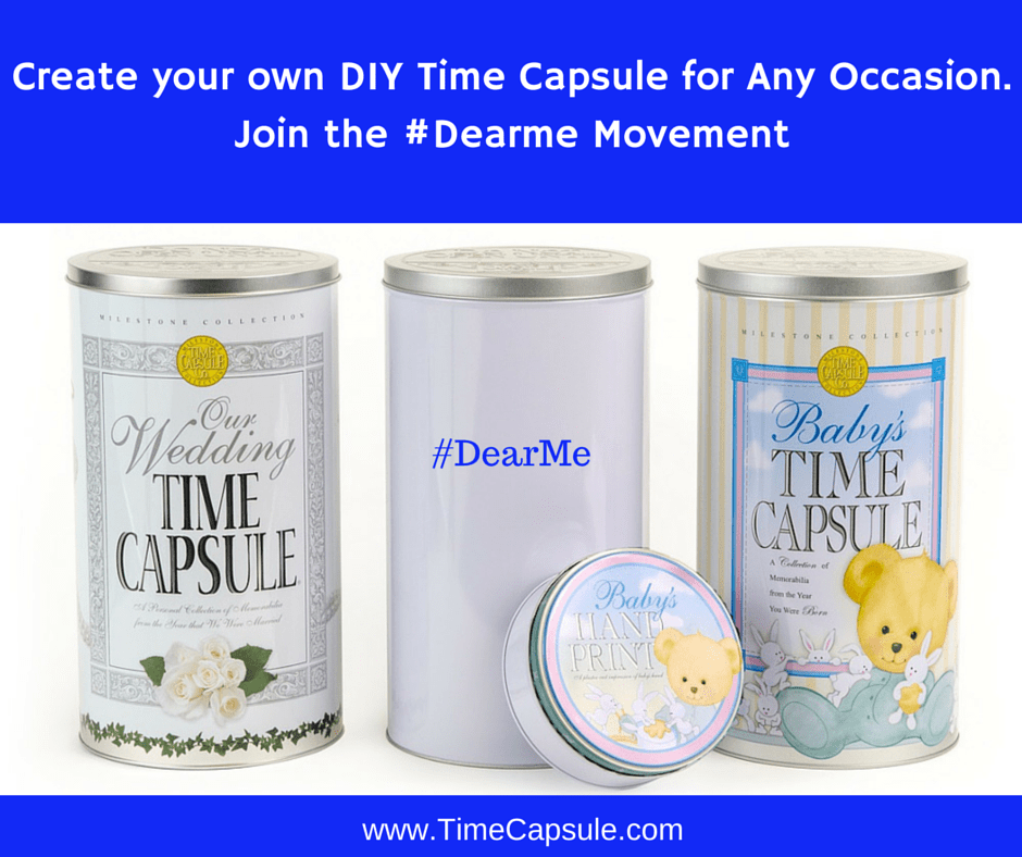 Spring Break Activities - Make a Time Capsule