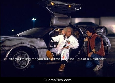 Flying Delorean Questions