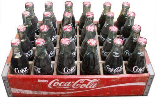 Coke Memories in a Glass bottle