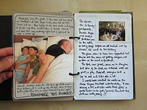 Journal keepsake to treasure