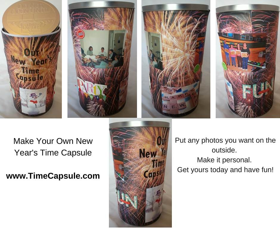 Make Your Own New Year's Time Capsule