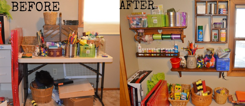 Organize your crafting space